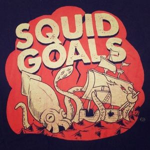 Squid goals large tshirt